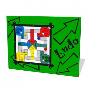 MagPlay Ludo Activity Play Panel