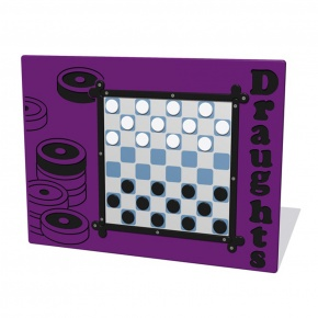 MagPlay Draughts Activity Play Panel