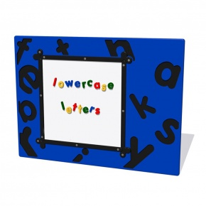 MagPlay Lowercase Letters Activity Play Panel