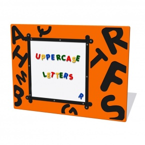 MagPlay Uppercase Letters Activity Play Panel