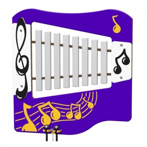 Ally Flat Bar Glockenspiel Musical Play Panel