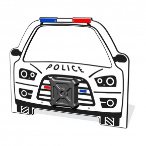 PlayTronic Police Car Play Panel