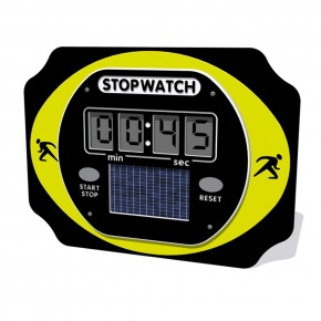 PlayTronic Solar Powered Stopwatch Panel