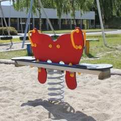 Butterfly Spring Seesaw